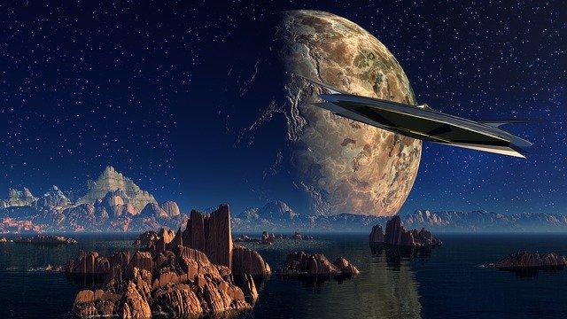 vesmír, futuristická vize