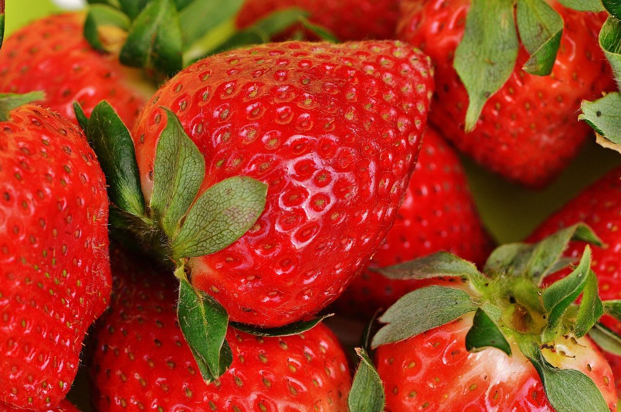 Jahody patří mezi první letní ovoce