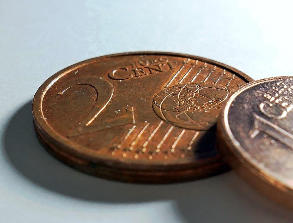 pár centů
