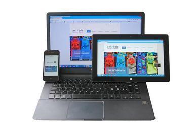 web v různých zařízeních